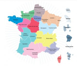 13 nouvelles régions pour la France - formation économique sociale et syndicale FESS