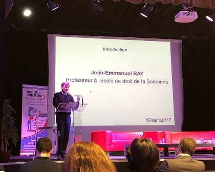 Jean Emmanuel Ray, professeur à l'école de droit de la Sorbonne