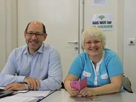 Philippe Boutrel et Véronique Michaud CFTC Thales